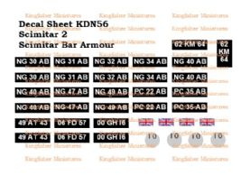 Scimitar 2 & Scimitar Bar Armour